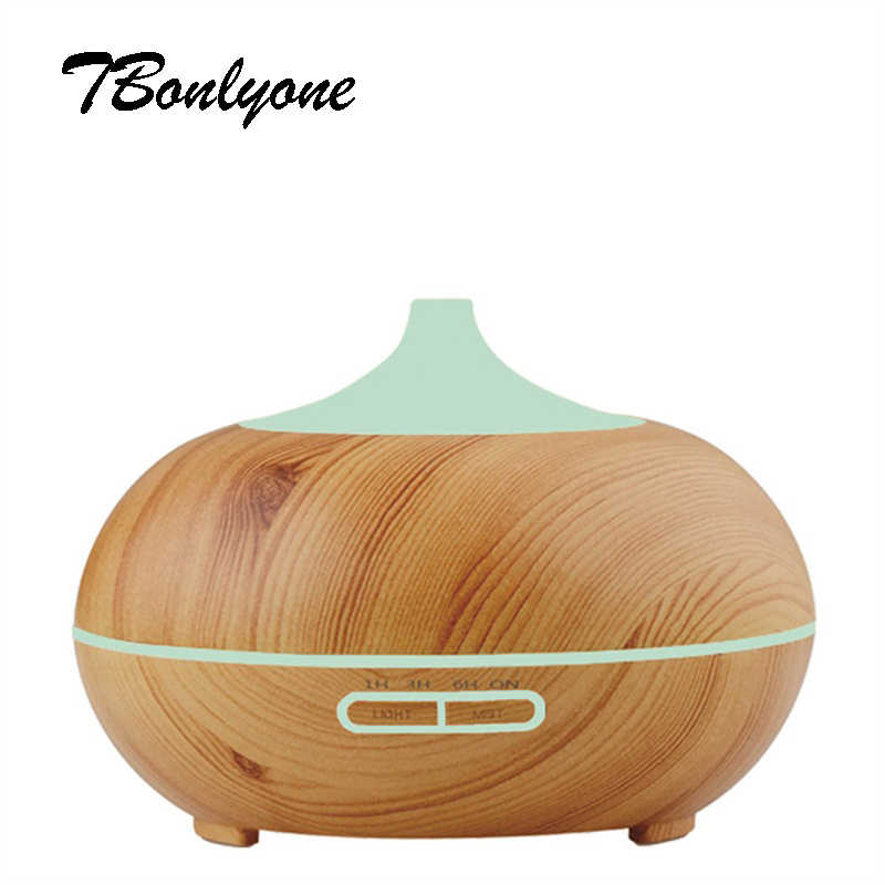 TBonlyone 300ML Ultrasonic Humidifier Air Humidifier Aromatherapy Mist Maker Aroma Essential Oil Diffuser for Home Office Spa<br>