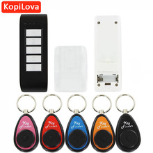 Kopilova Wireless Electronic Key Finder Reminder With 5 Key chain Receivers For Lost Keys Locator Whistle Key Finder Wholesale