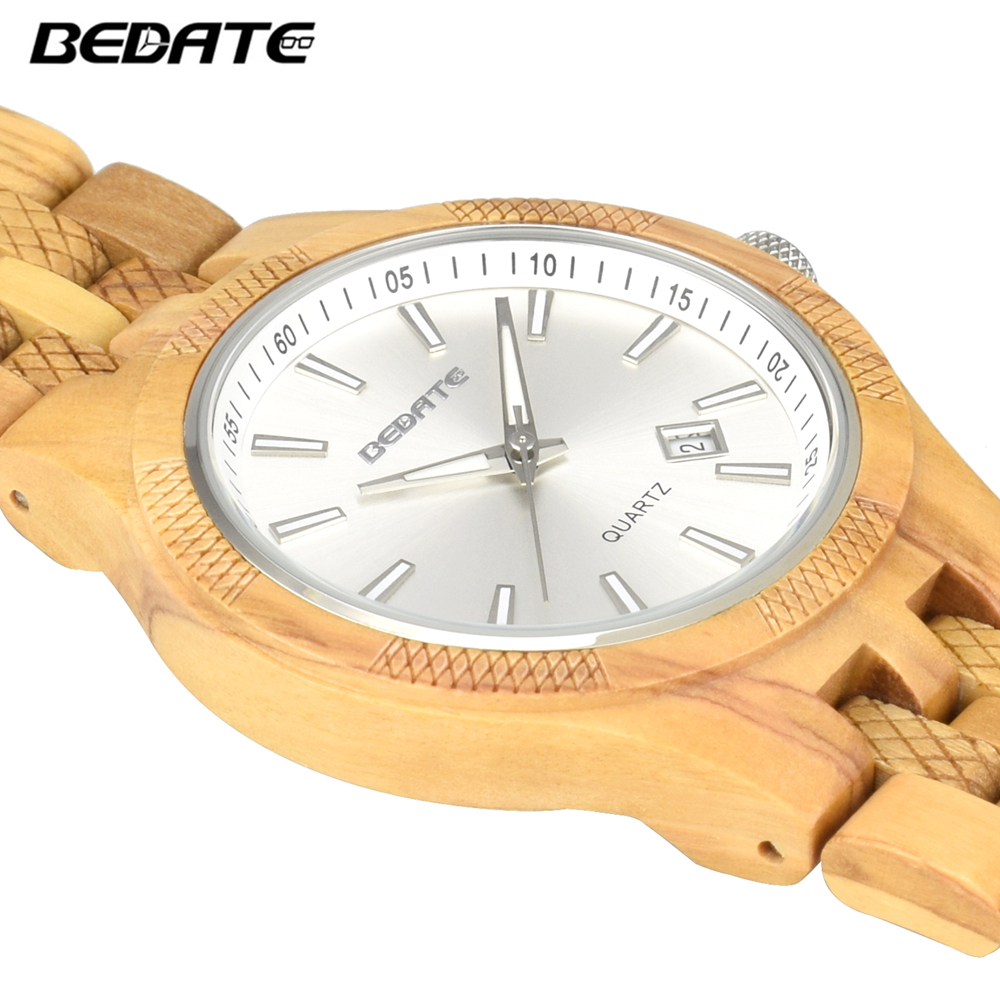 c81a3e3a674 Compre BEWELL Top Marca De Luxo Relógio De Madeira Relógio De ...
