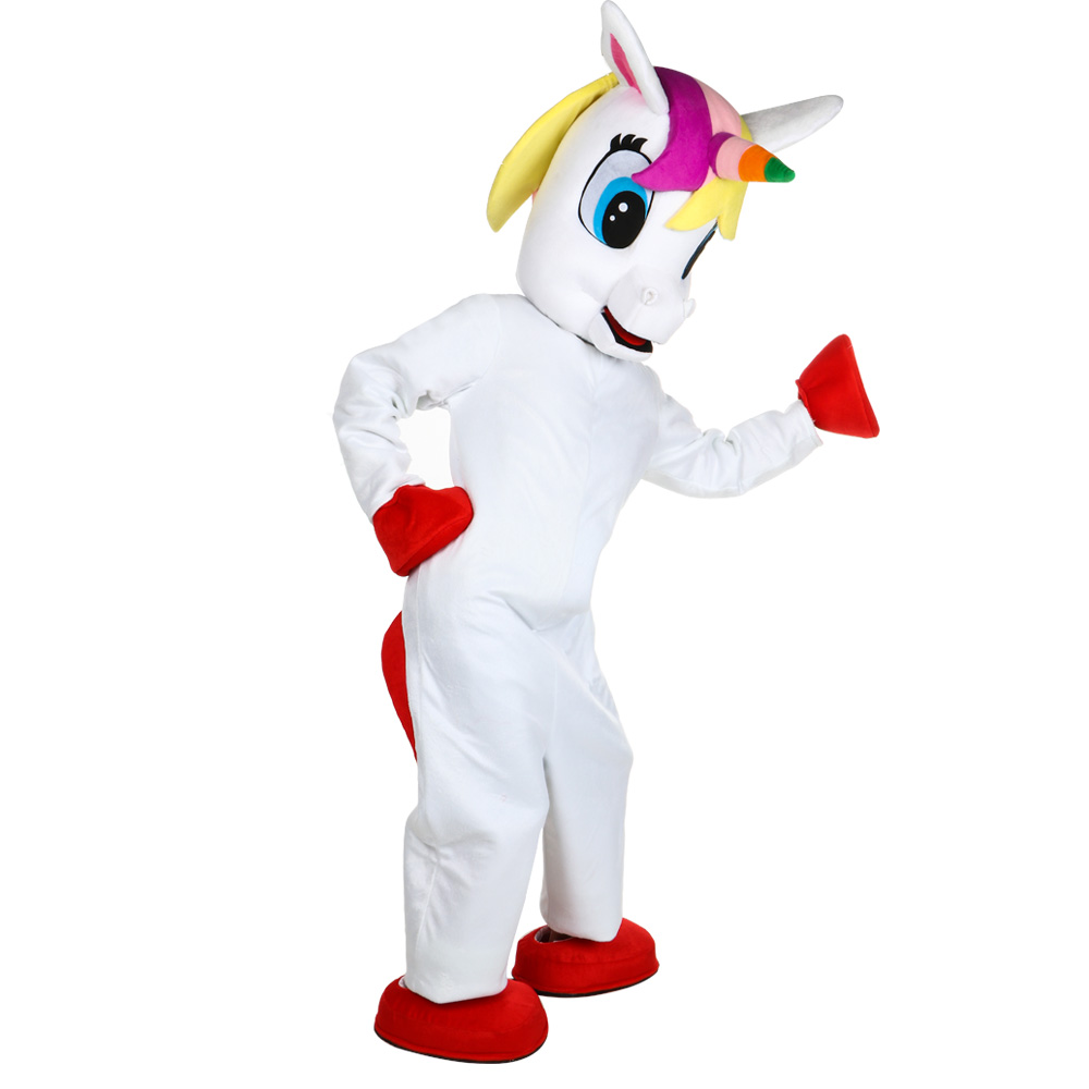 Unicorn Mascot costume High Quality Fancy Dress Animal Halloween birthday party costumes