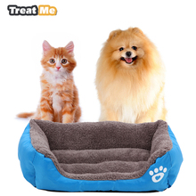 Fleece Removable Dog House Portable Dog kennels cages Soft Dog Beds for Large Small Dogs camas para perros cama gato(China)