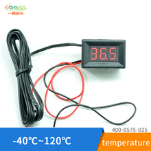 5 PCS LED Digital Thermometer Car Probe Fridge Freezer Thermometer Thermograph for Refrigerator -40~ 120 Degree DIY Refitting(China)