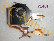 Genuine for DELL Studio 1555 CPU Heatsink Cooling fan 0Y140J Y140J