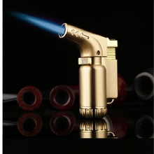 Jet 1300 C Welding Torch Lighter Mini Cigar Gun Cigarette Lighter 65*48*22 mm Small Torch Gas Lighter Burning Lighter -805(China)