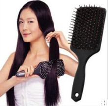 New 2017 Professional Healthy Paddle Cushion Hair Loss Massage Hairbrush Comb Scalp(China)