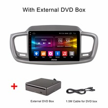 10.1 inch Android 6.0 Octa Core 2GB RAM+32GB ROM Car DVD Player for Kia Sorento 2015 2016 GPS Radio Stereo With DVD BOX(China)