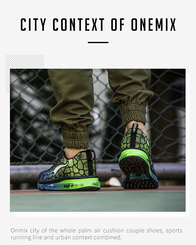 Hot onemix 17 Men Air Running Shoes Outdoor sport shoes Breathable Mesh Walking Sneakers Lightweight Breathable Athletic Shoes 5