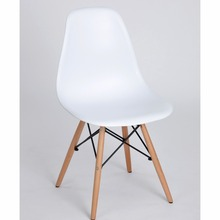 EGGREE Set of 4 Dining Room Chair Nordic style Fashion Dining  White Chairs  The modern popular plastic chair,Fashion Chairs