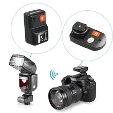 WANSEN PT-04GY 4 Channels Wireless Radio Flash Trigger Sync Speed 1/250s with receiver for Canon Nikon Pentax DSLR