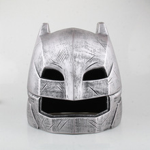 Batman vs Superman PVC Batman Armored Helmet Mask 1:1 Life-Size For Adult Collectible and Cosplay(China)