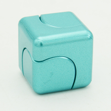 Cube Spinner Fidget Cube Funny Finger Spinner Adult Anti Stress Toys Spin Puzzle Magic Cube Finger Toys Small Gifts For Men