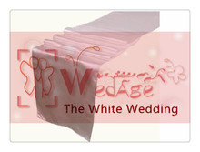 36 piece  white  table runners  For Wedding  FREE SHIPPING  white baby shower decorations
