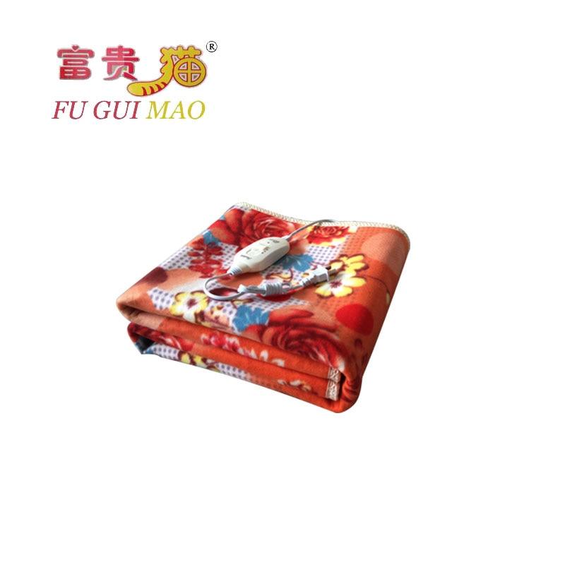 FUGUIMAO Electric Blanket 220v Electric Heating Blanket  For Beds Plush Heat Blanket 150x70cm Body Warmer Heating Mattress Carpe<br><br>Aliexpress