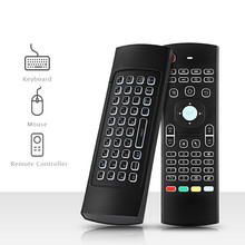 3 in 1 Multi-function TZ MX3 2.4GHz Air Mouse Backlight Wireless Keyboard Infrared Universal Remote Control For Smart TV TV Box