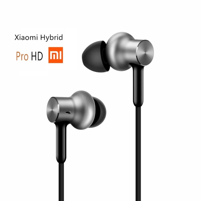 Newest Pro HD In Stock Xiaomi Hybrid Earphone with Mic Remote Headset for Xiaomi Redmi Red Mi Mobile Phone In-Ear Quantie<br><br>Aliexpress