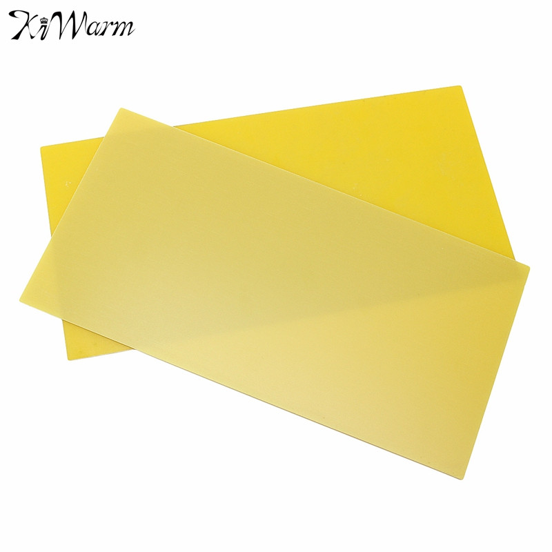 Kiwarm 300x150mm DIY Yellow Epoxy Glass Fibreglass Sheet Template Board For FR4 Glass Fiber For Home DIY Craft Supplies(China (Mainland))