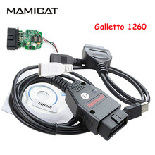 Galletto 1260 ECU Chip Tuning Auto OBD2 Diagnostic Scanner Flasher OBDII EOBD2 ECU Remap(China)