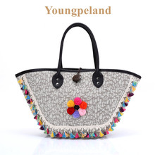 Ethnic Bohemian Summer Beach Tote Bags Boho Hippie Gypsy Tote Bags Indian Style Women Tote bags Handbag