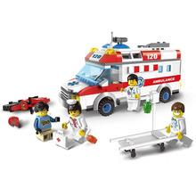 Ambulance Nurse Doctor First Aid Stretcher Bricks Toys Building Block sets Toys Compatible With Legofigure