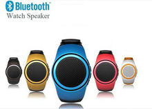 B20 Watch Style Mini Speakers Wireless Bluetooth Speaker Sports Outdoor Portable Sound Box Stereo Amplifier TF Music Player FM