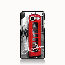 13306 London red telephone house cell phone case cover for Samsung Galaxy J1 MINI J2 J3 J7 ON5 ON7 J120F 2016