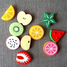 8PCS/Set Fridge magnet Aimant Magnetic board Magnets 3D Creative Fruit Refrigerator Magnets Imanes de nevera Calamite da frigo