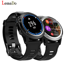 "Lemado JM01 Waterpoof sport Smart Watch phone 1.39"" OLED Round Support SIM Card 5.0M HD Camera Heart Rate For Android IOS Phone"