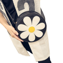 1Pcs Sweet Shoulder Bag Cute Sun Satchel Flower Messenger Bag 2017 Tote Bag High Quality(China)