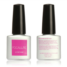 Focallure Beauty Girl Popular Genuine Sapphire UV Nail Polish 5 Kinds of Color Light Therapy Glue Sealing Layer & Bottom Glue OB