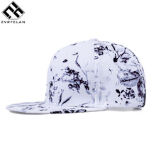 High Quality Snapback Caps Baseball Cap For Men Brand Women Hat White Print Cotton Hat Hip Hop Cap Winter Spring Wholesale
