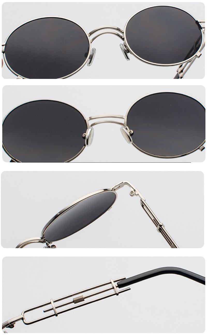 metal round steampunk sunglasses 900038 details (10)