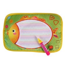 New Water Painting Draw Writing Mat Kid Aquadoodle Developmental Doodle Board Toy With Magic Pen