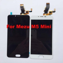 For Meizu M5 M611D / M611A / M611Y / M611D / Meizu Meilan M5 / Meizu M5 Mini LCD Display + Touch Screen Digitizer Assembly M611h(China)