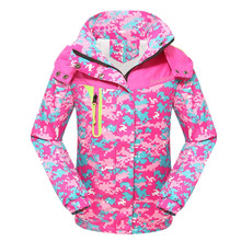 Children's Sports Suits Girls Windbreaker Jacket Kids Teengers Rain Coat  5-16Y Girl Outerwear Sport Suit Waterproof Windproof