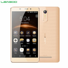 "LEAGOO M8 Smartphone 5.7 ""HD IPS Android 6.0 MT6580A Quad Core 2 GB RAM 16 GB ROM 3500 mAh 13.0MP téléphone portable à double empreinte digitale(China)"