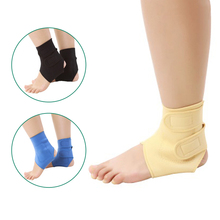 2 pcs Elastic tourmaline magnetic therapy Ankle Brace Support Band Sports Gym Protects Therapy shoes ankle protector(China)