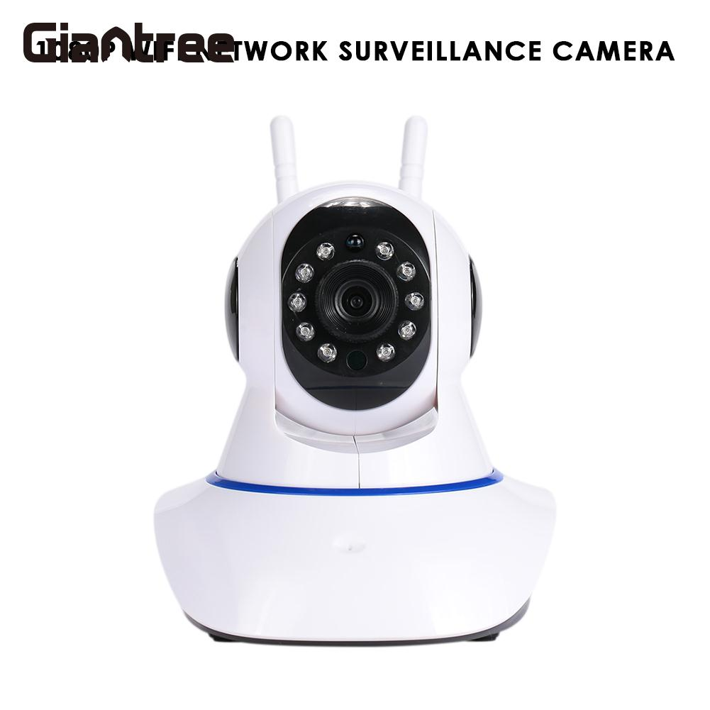 giantree 1080P HD WIFI IP Camera HD taking photo video recording Surveillance Camera Home Security White Wireless Webcam<br>