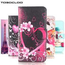 TOBOCLOO Fashion Beautiful Flower Owl Leather Wallet Cover Case For Apple iphone 5 5s SE 4 4s 5 6 6s 6Plus 6s 7 8 Plus 8 X Bags(China)
