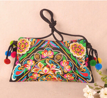 Free Shipping!Price-Promotion national trend Embroidered bags national Lady's party bag shoulderbag holder
