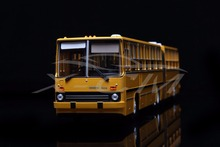 Diecast Bus Model Soviet Union Russian Ikarus-280.33M 1:43 (Yellow) + SMALL GIFT!!!