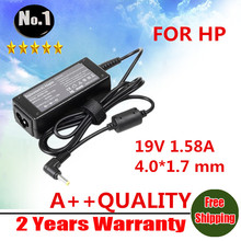 NEW AC  power adapter For  HP Compaq Mini 700 110 1000 Vivienne Tam Edition PC 110-1000s 19V 1.58A with 4.0*1.7 mm interface