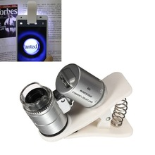 Buy EDAL Universal 60X Optical Zoom Clip Telescope Camera Microscope Lens Battery Mobile Phone Lens iPhones Huawei for $2.90 in AliExpress store