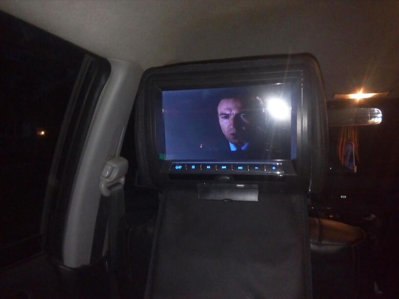 9inch Headrest Installed 1