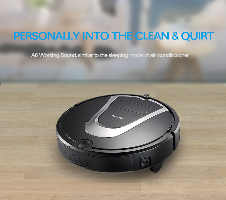 2017 Smart Planned route Robot Vacuum Cleaner For Home Wireless 600ml dustbin HEPA Filter Auto charge vacuum cleaner Aspirador(China (Mainland))