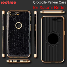 Xiaomi Redmi 4X 4A 4 Pro Luxury Full Cover Crocodile Pattern Soft TPU Smartphone Case for Redmi Note 4X 4 Pro Celular Back Capa(China)