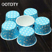 50 pcs cupcake liner baking cup cupcake paper muffin cases Cake box Cup egg tarts tray cake mould decorating tools