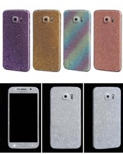 Hot Sellig Full Body Glitter for Samsung Galaxy S5 i9600 Shiny Phone Sticker Matte Screen Protector Sparkling Diamond Film