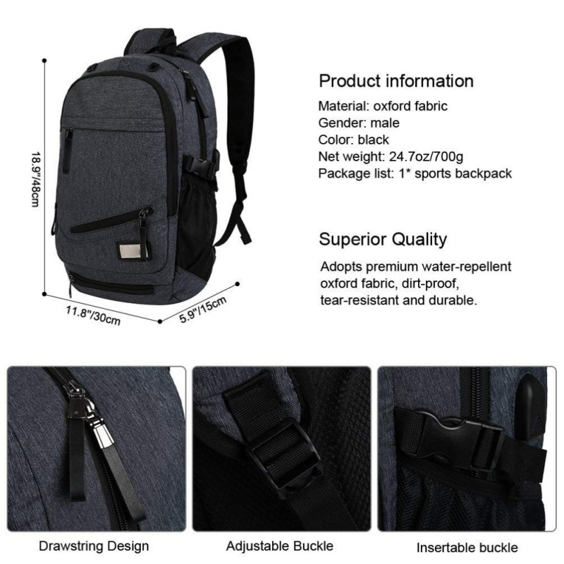 Package Include  1 x Basketball Backpack ( Not including basketball and  power bank ) b1c7205c6e