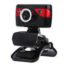 A886 PC Camera USB WebCam Web Camera with Microphone to the Computer Support Night Vision for Desktop Laptop Skype