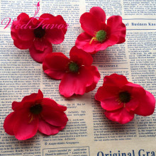 100pcs 7cm Silk Poppy Flower Heads Imitation Flowers For DIY Hair Garland Corsage Dress Accessories Wedding Table Decoration